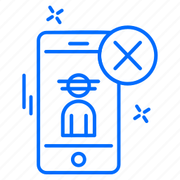 cyber, hacker, phone, protection icon