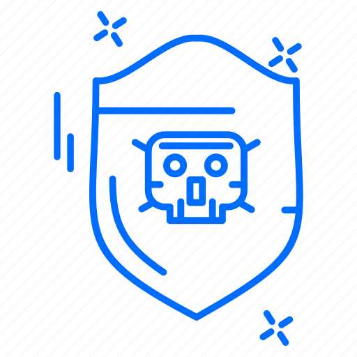cyber, hacker, protection, shield icon