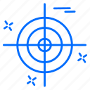 cyber, goal, hacker, protection, target icon