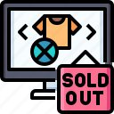 shopping, shirt, sold, computer, out, clothes
