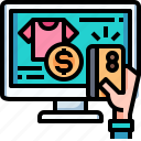 hand, buy, credit, card, payment, computer
