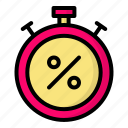 alarm, schedule, stopwatch, timer icon