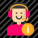 avatar, customer, male, service