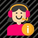 avatar, customer, female, service