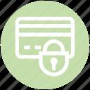atm card, credit card, debit card, lock, secure, security