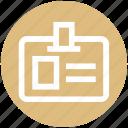 card, cyber, id card, identification, police card, user card