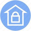 house, lock, property, protection, safe home, security