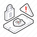 antivirus lock, antivirus protection, bug protection, malware protection, virus protection icon