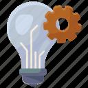 idea, generation, idea generation, idea development, creative idea, innovation, big idea icon