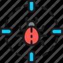 bug, cyber, hacker, pest, sight, target, virus