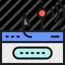 account, data, fishing, hacker, hook, password, phishing
