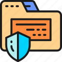 confidential, folder, hacker, information, internet, protection, security