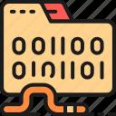 business, computer, cyber, folder, hacker, virus, worm