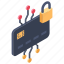 credit card lock, safe payment, safe shopping, secure payment, secure transfer icon
