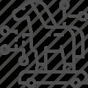 computer, crime, cyber, hacker, horse, trojan, virus icon