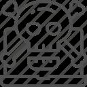 crossbones, hacker, malware, phishing, scam, skull, virus icon