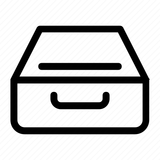 box, file, file case, files, inbox icon