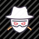 crime, criminal, cyber, hacker icon