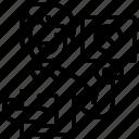 disallow, prohibit, regulator, restriction, rules icon