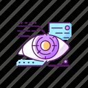high tech, lens, mechanic, eye