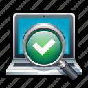 computer, scan, antivirus, application, security