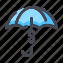 finance, hedging, investment, safe, umbrella
