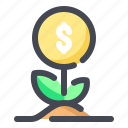 asset, business, finance, growth, investment icon