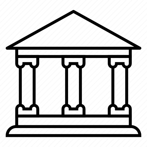 apartment, bank, building, construction, house, office, property icon