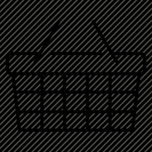 basket, bucket, cart, ecommerce, online, sale, shopping cart icon