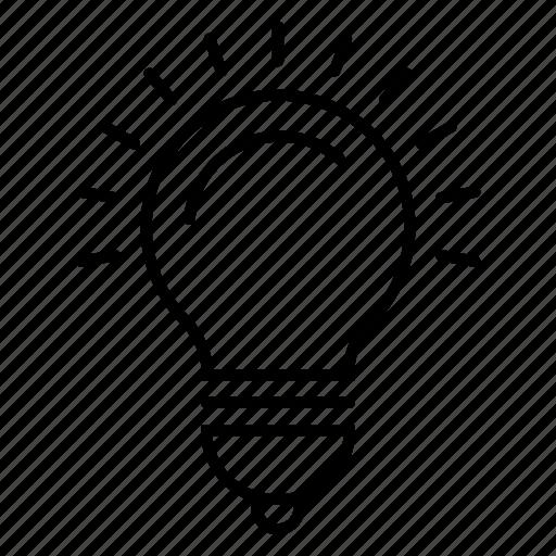 bulb, elecetrict bulb, electricity, energy, lamp, light, solar light icon