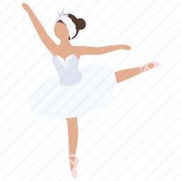 ballerina, ballet, classical, dance, dancer, school, tutu icon