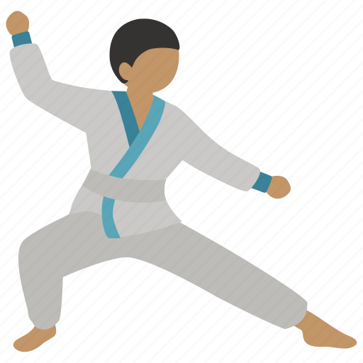 Hapkido, judo, karate, martial, martial art, stance, taekwondo icon - Download on Iconfinder