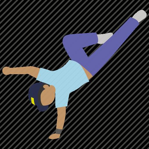 break, break dancing, dance, dancer, hip hop, street, urban icon