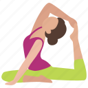 aerobics, dance, exercise, flexibility, flexible, stretch, stretching icon
