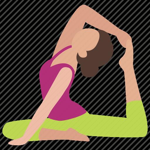aerobics, dance, exercise, flexibility, flexible, stretch, stretching icon