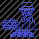 bad, breaking, cash, crime, criminals, danger, heap, heisenberg, money, pile, walter, white icon