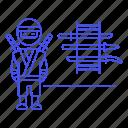 1, assassin, crime, danger, gear, japan, male, mercenary, ninja, rack, shinobi, sword, weapon, weapons icon