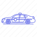 car, civil, control, crime, danger, guard, officer, peace, police, road, traffic, vehicle icon