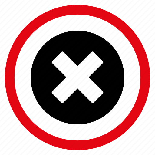 Cancel, close, delete, erase, reject, remove, stop icon - Download on Iconfinder