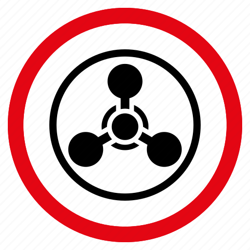 chemical warfare, chemistry, nerve agent, poison, toxic, weapon, wmd gas icon
