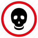 danger, dead head, death, pirate, poison, skull, toxic