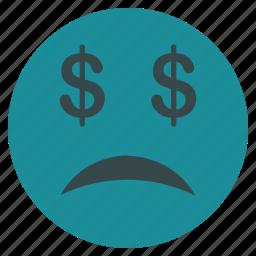banking, bankrupt, bankruptcy, debt, depression, problem, recession icon
