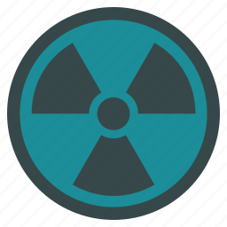 atom, atomic, laboratory, nuclear, radiation, radioactive, science icon