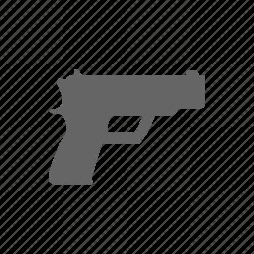 Weapon, gun icon