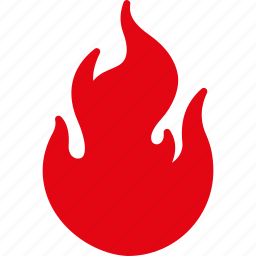 burn, danger, fire, flame, heat, hot, nero icon