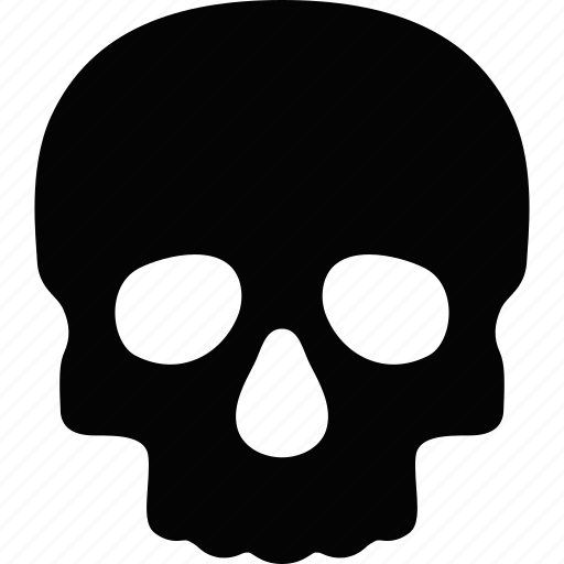 danger, dead, death, poison, skull, toxic, warning icon