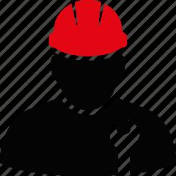 engineer, helmet, job, mechanic, serviceman, work, worker icon