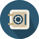 bank, banking, business, open, safebox, savings, security icon