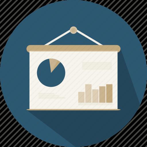business, chart, finances, financial, graphic, presentation, statistics icon