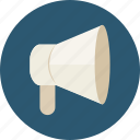advertising, loud, marketing, megaphone, speaker